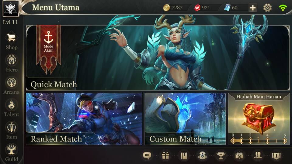 LiputanGame - Interface Game